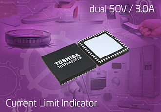 DC brushed motor IC with current limit detection