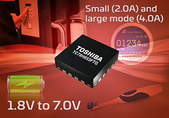H-bridge driver IC supporting low-voltage, large current drive