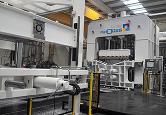 Collaboration brings composite forming facility