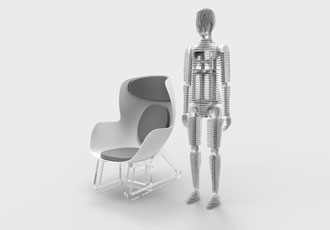 Sensoroid and smart chair enables health to be visualised