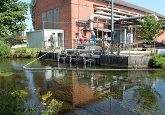 Keeping water treatment systems running through flood conditions