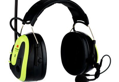 Safety combined with communication in headset