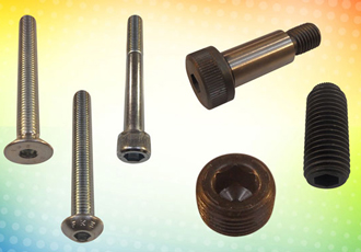 Ex-stock socket screws and bolts in high grade materials