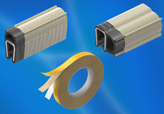 Gaskets supplement EMC protection