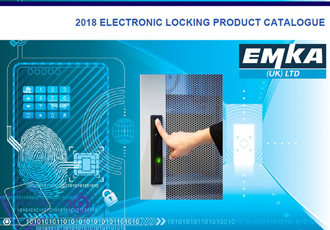 The 2018 electronic and biometric locking catalogue