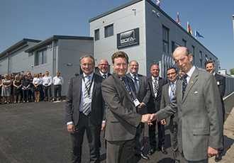 The Duke of Kent officially opens BOFA's centre of excellence