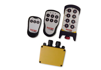 Wireless remote control system for industrial control applications