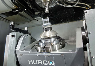 Production time in five-axis machining cut by 75%