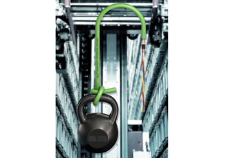 Secure bus communication designed for hanging applications