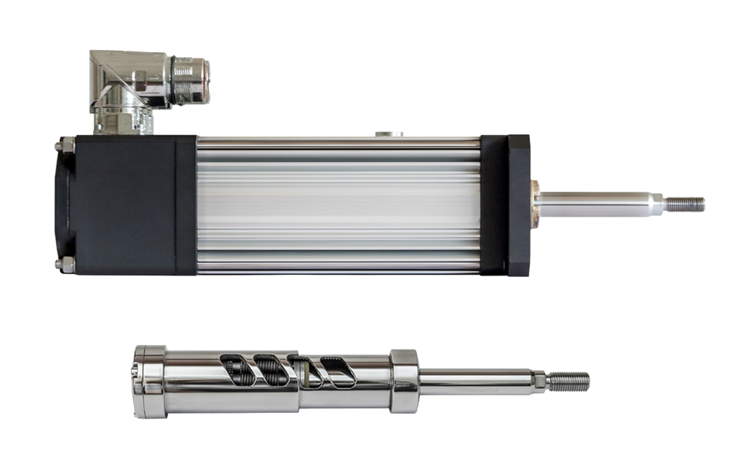 Low maintenance electromechanical actuator range improved