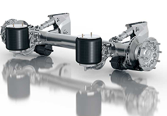 Major fleet upgrade centred on axle systems