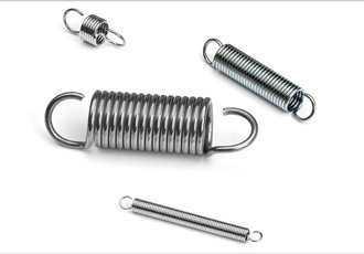 AISI 316 extension springs in new catalogue