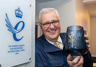 Queen's Award for world-class export record presented