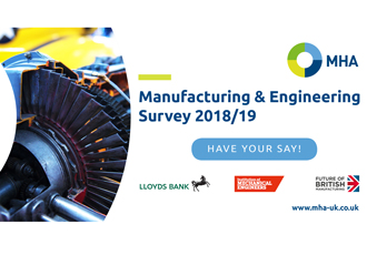 Have your voice heard in the MHA Manufacturing and Engineering Survey