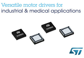 Motor drivers deliver simplicity for low to mid power applications