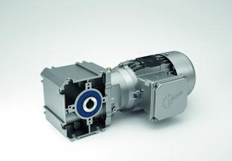 New helical worm gear unit is made from high strength aluminium