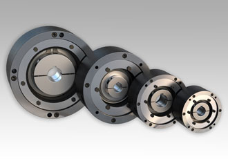 Zero-backlash spring engaged brakes for power transmission apps