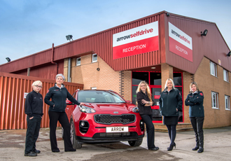 Vehicle-hire firm celebrates INWED pledging to increase female workers