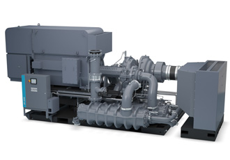 Air compressor combines high flow and low energy consumption