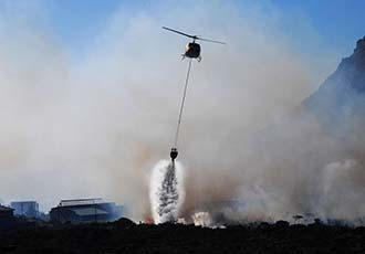Helicopters could bring fresh technologies to fighting brushfires