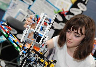 Young engineers crowned first LEGO League UK champions