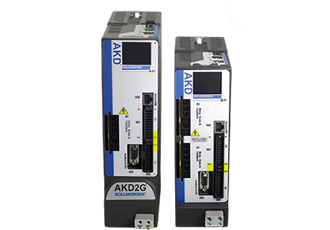Power-dense servo drive reduces wiring and filtering to save space
