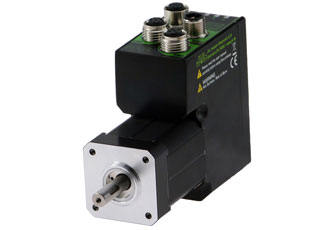 Compact slim stepper motor has high motor power and torque