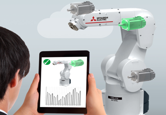 Industrial robots use the cloud to access Artificial Intelligence