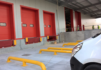 Loading bay equipment aids speedy logistics