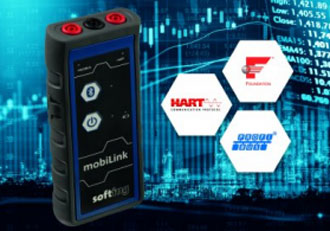 Mobile multiprotocol interface for field device configuration