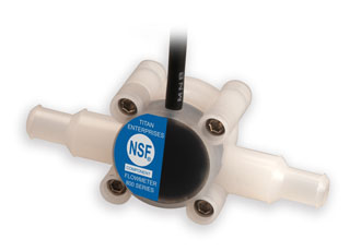 Accredited flowmeters for food and beverage products