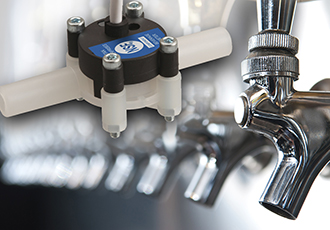 Beverage dispensing flowmeters