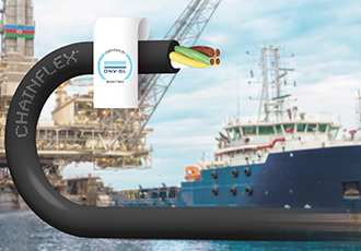 DNV GL certified chainflex cables for e-chains