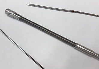 Custom flexible shafts for medical applications