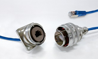 RJ45 Connector System For Harsh Environments