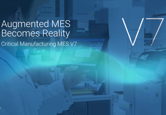 Augmented MES becomes reality with critical manufacturing V7