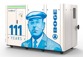Hanover debut for anniversary edition S-4 screw compressor