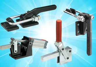 Heavy duty clamping provides effective force