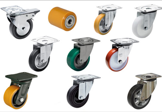 Broad range of castors and wheels for industrial purposes
