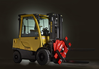 Lift truck attachments for factory fit programme