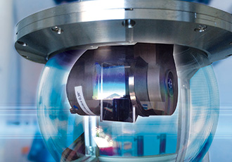Ultra-slim thin section bearings for innovative laser terminals