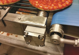 Pizza plant saves over €15,000 after switching bearings