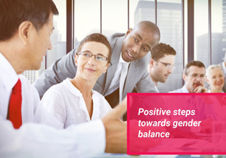 Stronger leadership needed on gender balance