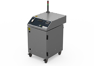High temperature laser fume extraction solution