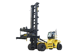 Top lift container handlers increase productivity