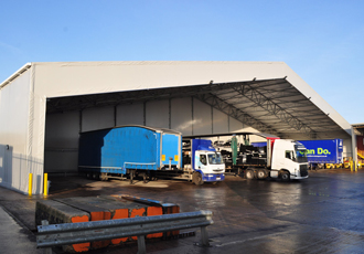 Custom designed vehicle loading bay helps growth