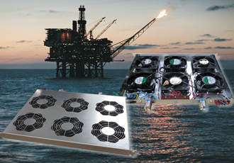 Fan trays help keep North Sea oil platform safe