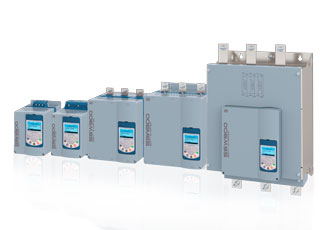 Series of soft starters extended with additional frame sizes