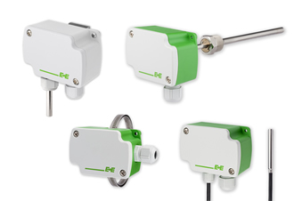 Temperature sensors now available with 0-10V or 4-20mA outputs
