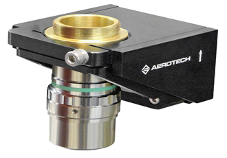 Microscope Objective and Optics Positioning Piezo Stage with Nanometer Precision at High Speeds